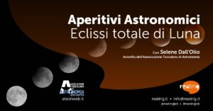 Aperitivi Astronomici - Eclissi totale di Luna